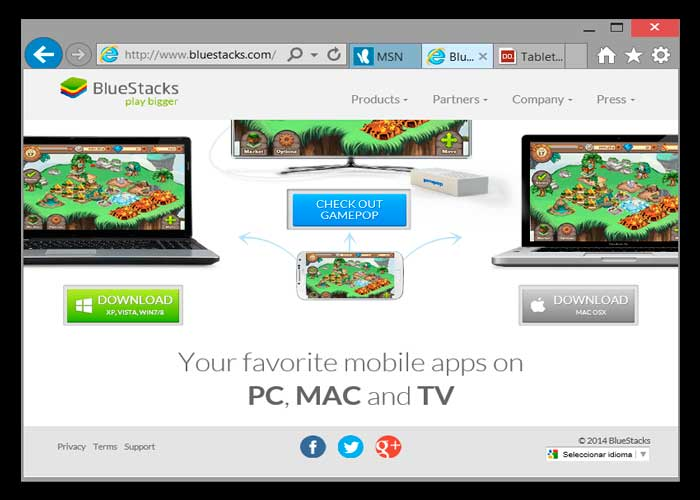 Bluestacks app player and wechat for pc